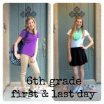 I blinked…and now she's a 7th grader!