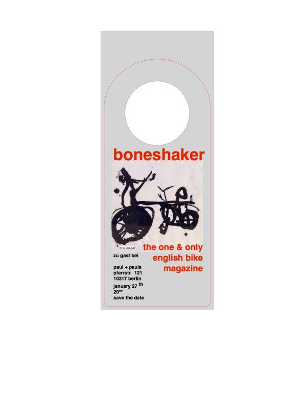 boneshaker the one & only english bike magazine