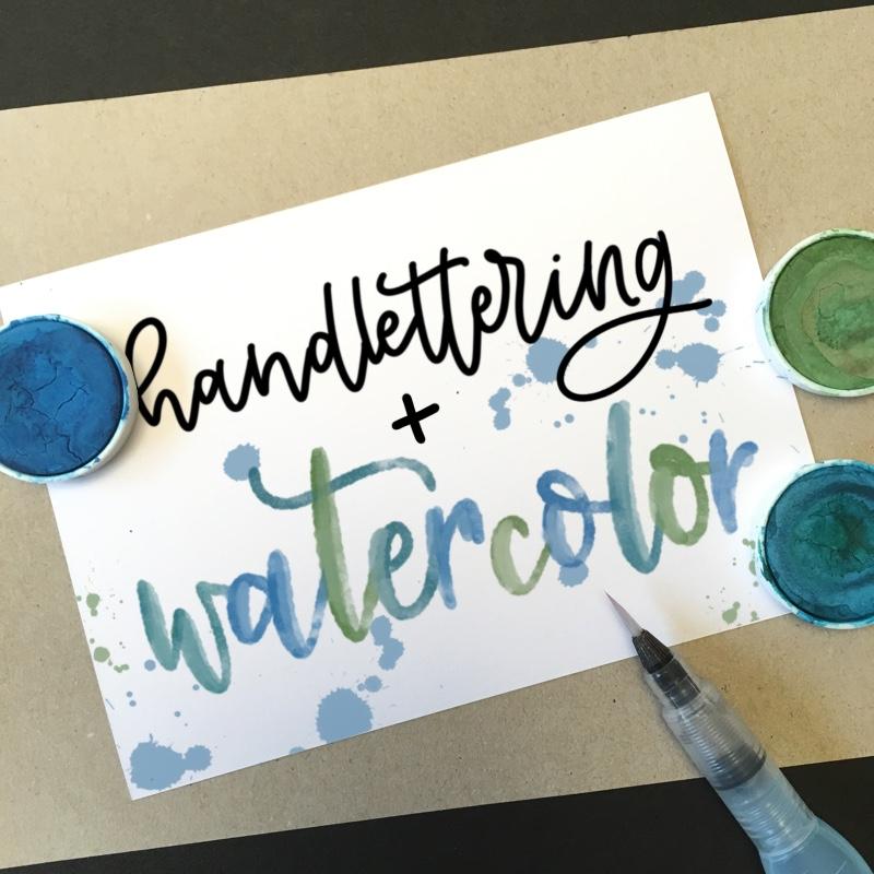 Watercolor-Lettering