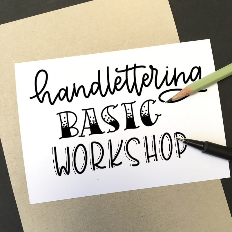 Basic Lettering Workshop