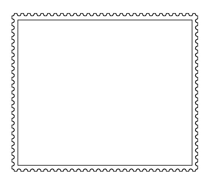 BB-CY - Vorlage Briefmarke