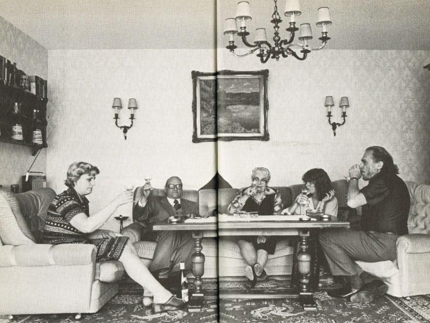 Bukowski im Wohnzimmer