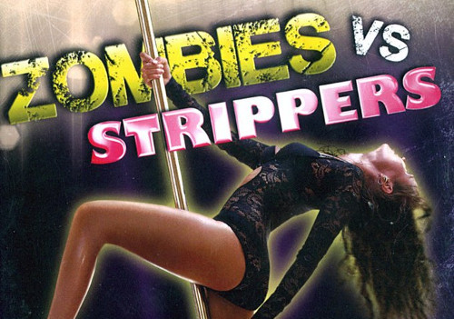 Langsame, schwache Zombies gegen Stripperinnen