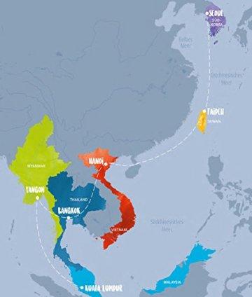 Asia Street Bowls: Authentische Rezepte für Suppen und Brühen aus fünf asiatischen Ländern (Thailand, Vietnam, Korea, Taiwan und Myanmar) mit spannenden Reportagen - 3