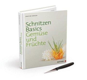 Schnitzen Basics - Gemüse und Früchte: Buch mit Schnitzmesser - 1