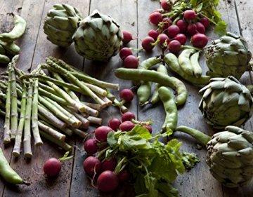 Zum Glück Gemüse. 350 Gemüserezepte für alle Jahreszeiten: Die Bibel der Gemüse Küche - 3