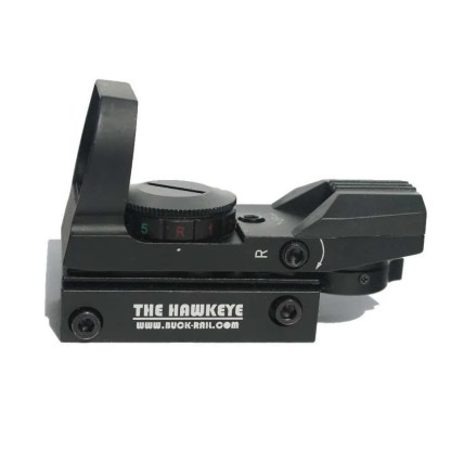 Side view of Hawkeye reflex sight