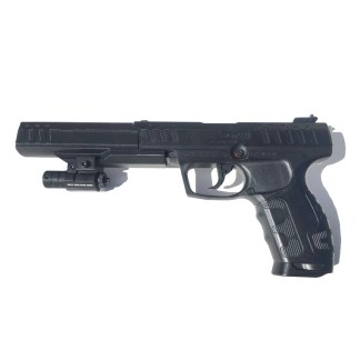 Daisy Powerline 426 Silencer and Laser Sight Mounted