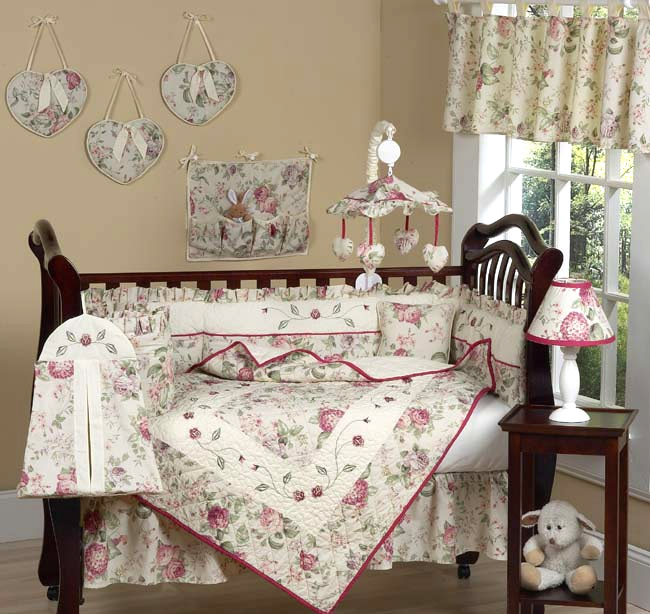 COWBOY BABY CRIB BEDDING : COUNTRY ROSE WESTERN COWGIRL
