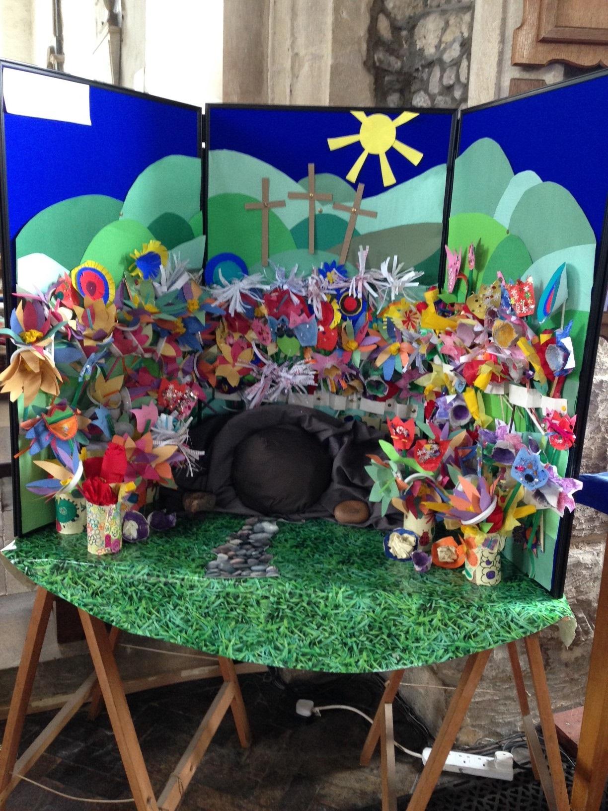 Easter Garden Buckden Church Of England Primary
