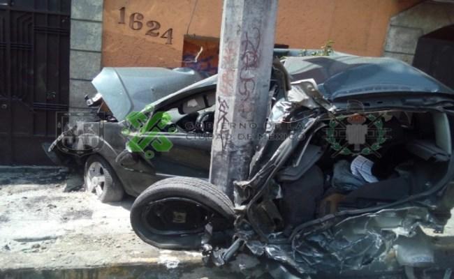 Tráiler Se Queda Sin Frenos Y Choca Contra Varios Autos En
