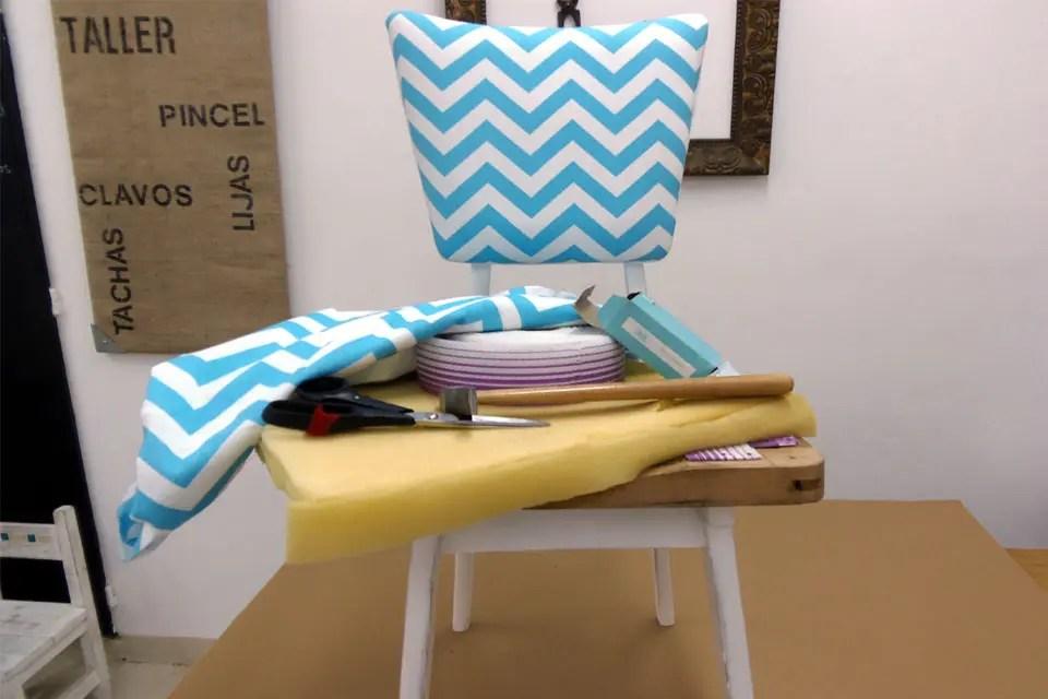 Recicl los asientos de tus sillas  Vernica Gutirrez de