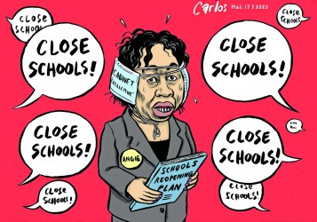 Cartoon: Carlos on Angie and the schools debacle The Mail & Guardian