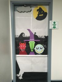 My submission for the door decorating contest at work ...