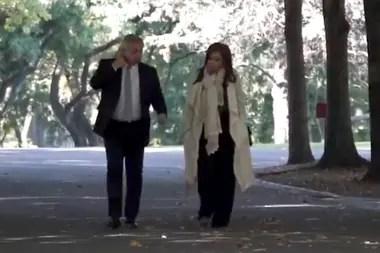 Encuentro en Olivos de Alberto Fernández y Cristina Fernández