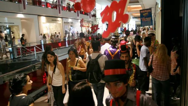Los shoppings esperan un alza en las fiestas
