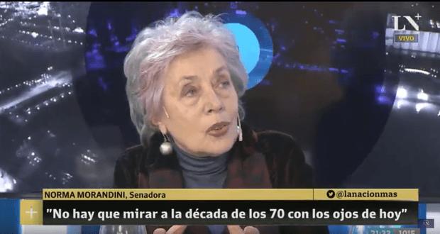 Norma Morandini en Terapia de Noticias