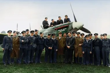 There were 554 Argentine pilots who joined the RAF; Up, some of them
