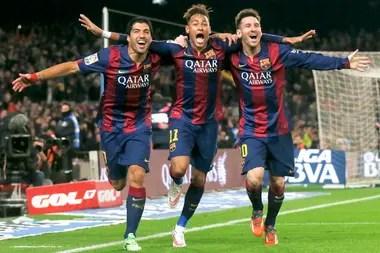 Una época de oro de Barcelona con la MSN: Suárez, Neymar y Messi