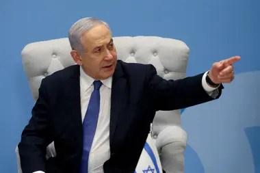 La reacción de Netanyahu