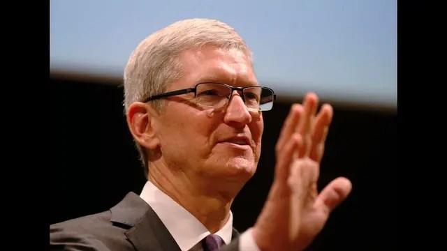Tim Cook, director ejecutivo de Apple desde la muerte de Jobs en 2011