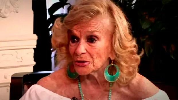 A los 99 años falleció la actriz Diana Ingro