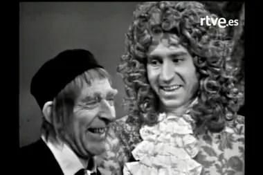 Narciso Ibáñez Menta y José Sacristán, en El Avaro (1972)