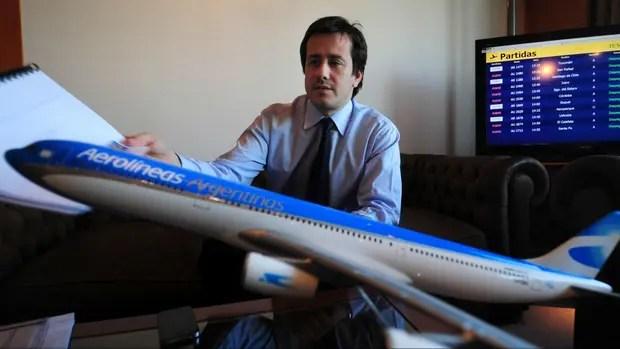 Mariano Recalde presidió Aerolíneas Argentinas durante el kirchnerismo