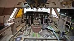 Las cabinas de piloto también ofrecen oportunidades de reciclaje.
