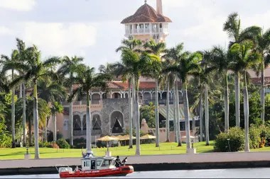 La residencia de Mar-a-Lago, donde Trump recibirá a Bolsonaro