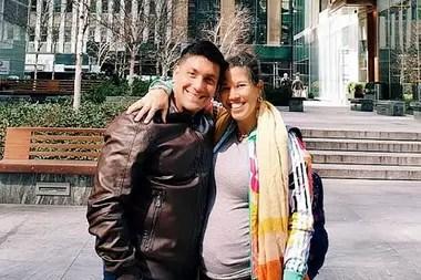 Emilio Durán junto a su mujer, Cynthia Schemith, embarazada de 30 semanas, ruegan volver a la Argentina en los próximos catorce días