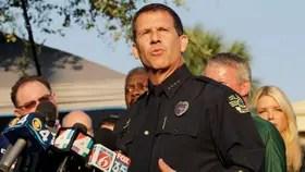 John Mina, jefe de la Policía de Orlando