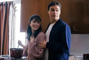 John y Lorena en una escena de la película