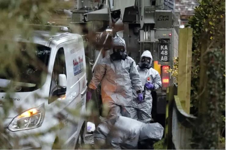 Los investigadores seguían buscando pistas del caso del espía envenenado