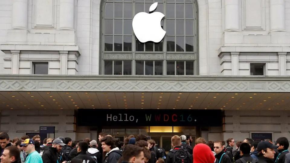 La entrada a Apple WWDC 2016, el encuentro anual para desarrolladores de la compañía
