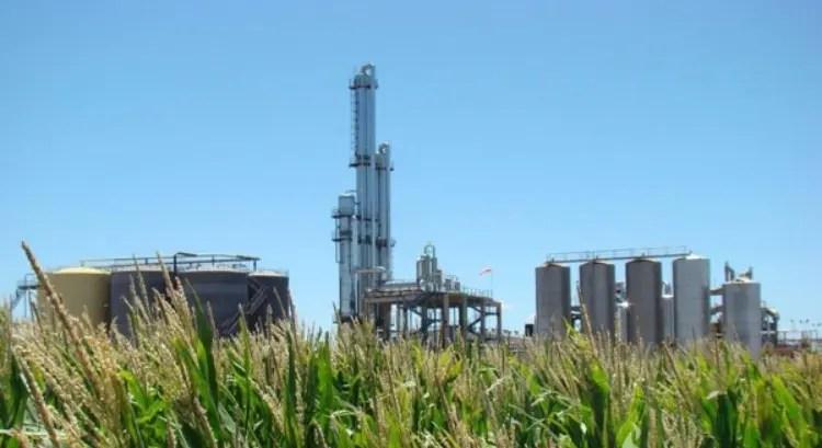 La planta de bioetanol. Foto: Bio4