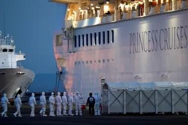 El Diamond Princess fue puesto en cuarentena el 14 de febrero ante el avance de los contagios