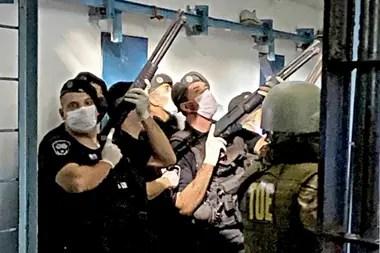 Después de que las fuerzas de seguridad recuperaron el control, la cárcel de Las Flores estuvo varios días sin agua ni luz