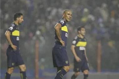 El partido que marcó su salida por la puerta de atrás en la derrota frente a Independiente del Valle por la semifinal de la Copa de 2016.