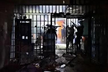 El 23 de marzo, un motín en Las Flores destruyó el 90% de la cárcel