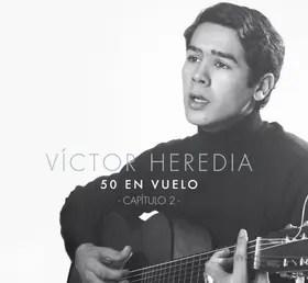 Victor Heredia, joven en 1967, ilustra la tapa de su nuevo disco
