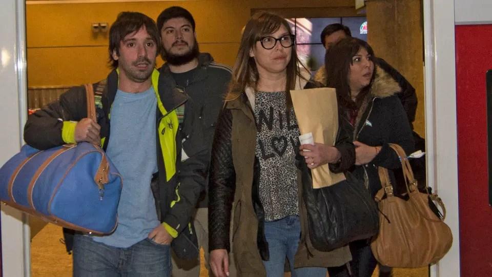 Los hijos de Lázaro Báez al llegar a Buenos AIres