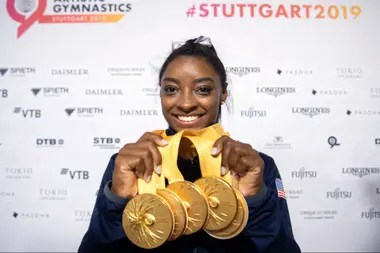 Days, world champion: here, with their medals of Stuttgart 2019