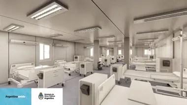 El Gobierno amplió a 12 la red nacional de Hospitales Modulares de Emergencia