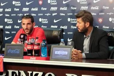 Marcelo Tinelli presentó a Nacho Piatti como nuevo refuerzo del club