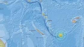 El Servicio Geológico de Estados Unidos situó el epicentro del terremoto de 7,6 grados en la escala de Richter cerca de las islas de la Lealtad, Nueva Caledonia