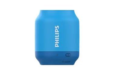 Para compartir música. El parlante Bluetooth Philips BT51 tiene un diseño compacto y una batería con autonomía de seis horas. La función anti-clipping posibilita escuchar la música fuerte manteniendo la calidad, incluso si le queda poca batería ($1299).
