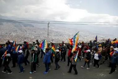 Seguidores de Evo se preparan desde El Alto para bajar a la tarde a La Paz
