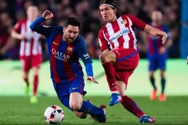 Filipe Luis reconoce que le pegó siempre a Lionel Messi: también que lo admira mucho
