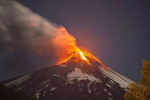 Las imágenes de la erupción del 2015